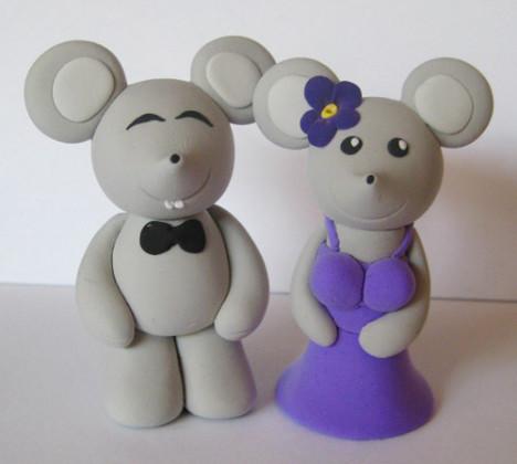 【图】网友推荐单品:lisa手工艺品/泥塑老鼠工艺老鼠