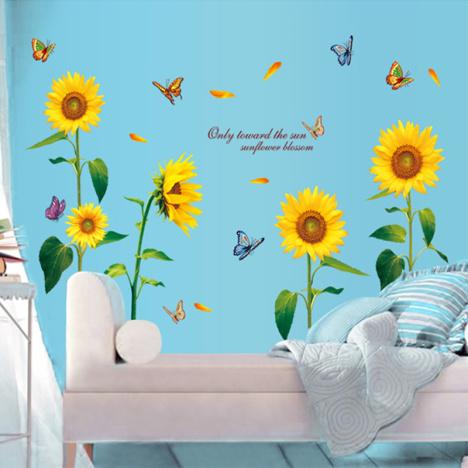 客厅 电视背景墙贴画 卧室餐厅柜子贴花 贴纸儿童房壁画贴纸墙画