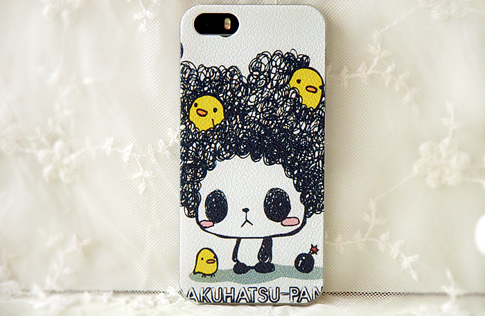 可爱熊猫手机壳