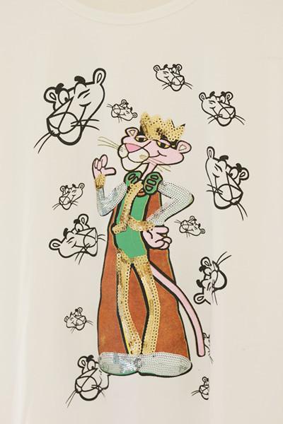粉红豹全身怎么画简图-粉红豹简笔画整只,水粉粉红豹
