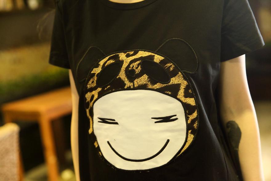 韩版宽松版可爱娃娃t恤衫