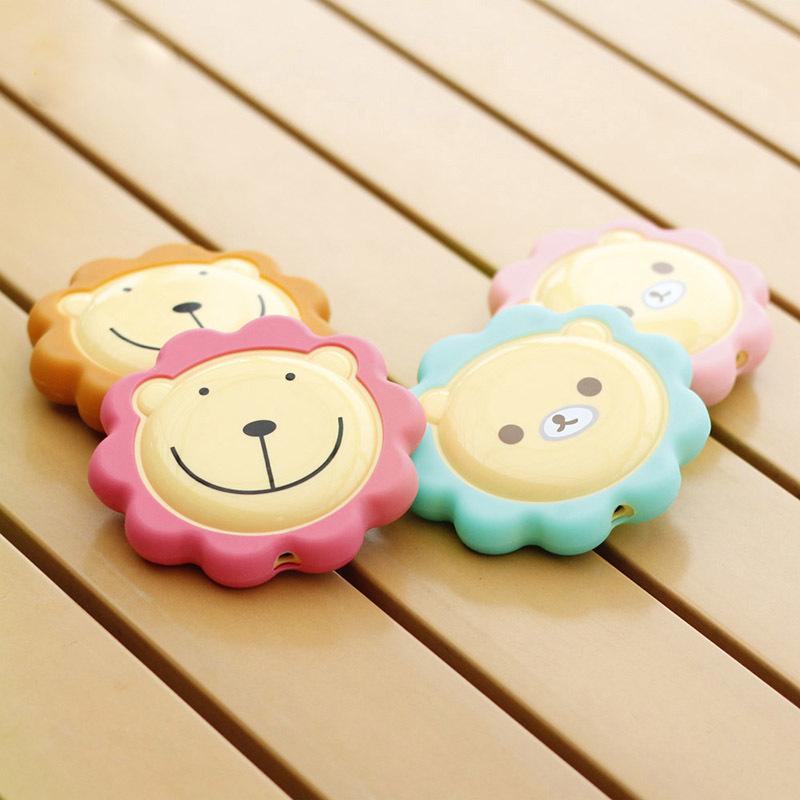 小熊狮子usb充电暖手宝