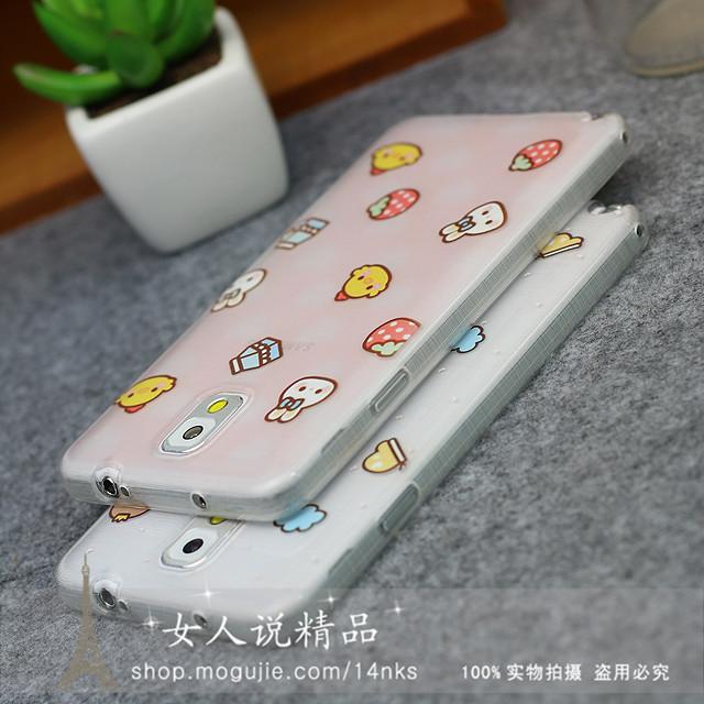 小可爱三星note3/note4手机壳