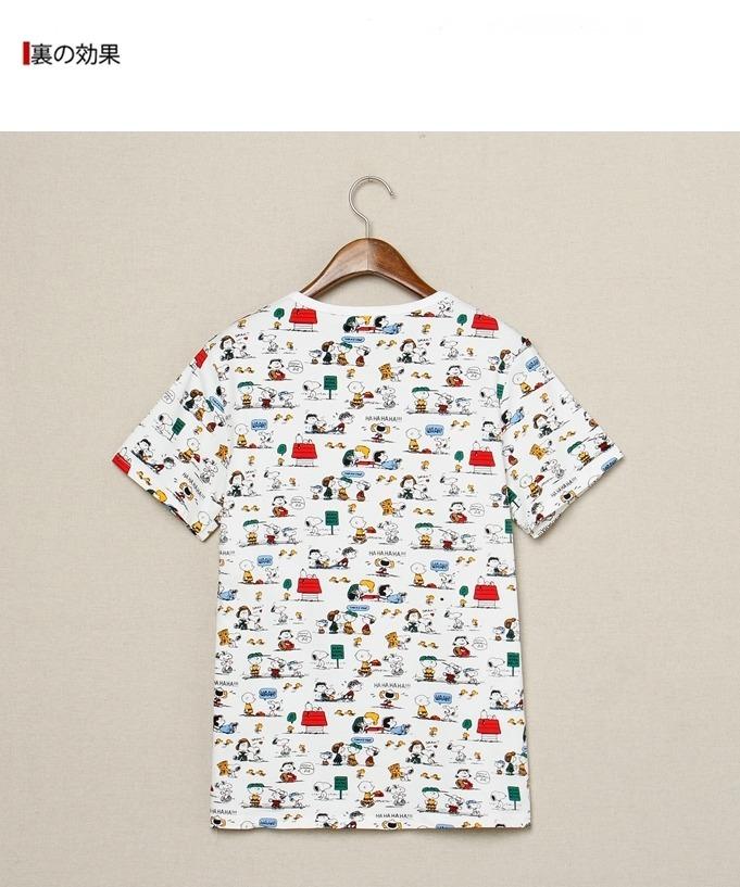 小清新男士日系卡通短袖t恤衫