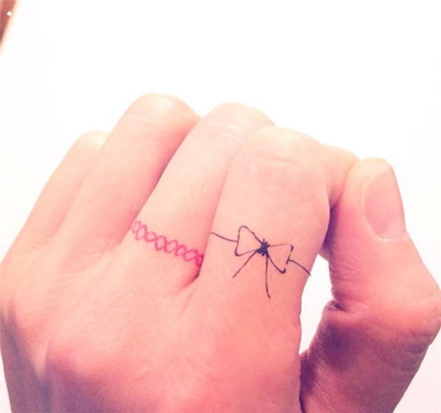 手指头纹身_纹身图案大全
