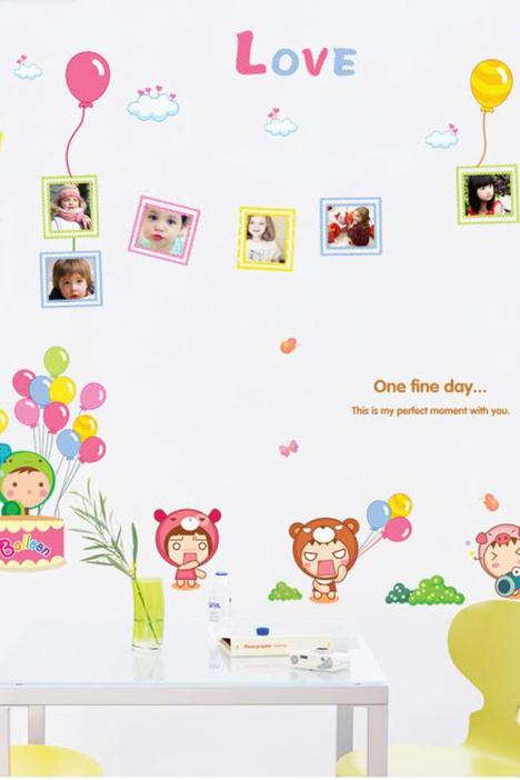 墙贴,贴画,贴纸,墙纸,儿童贴画,儿童卡通纸,房间贴纸,照片