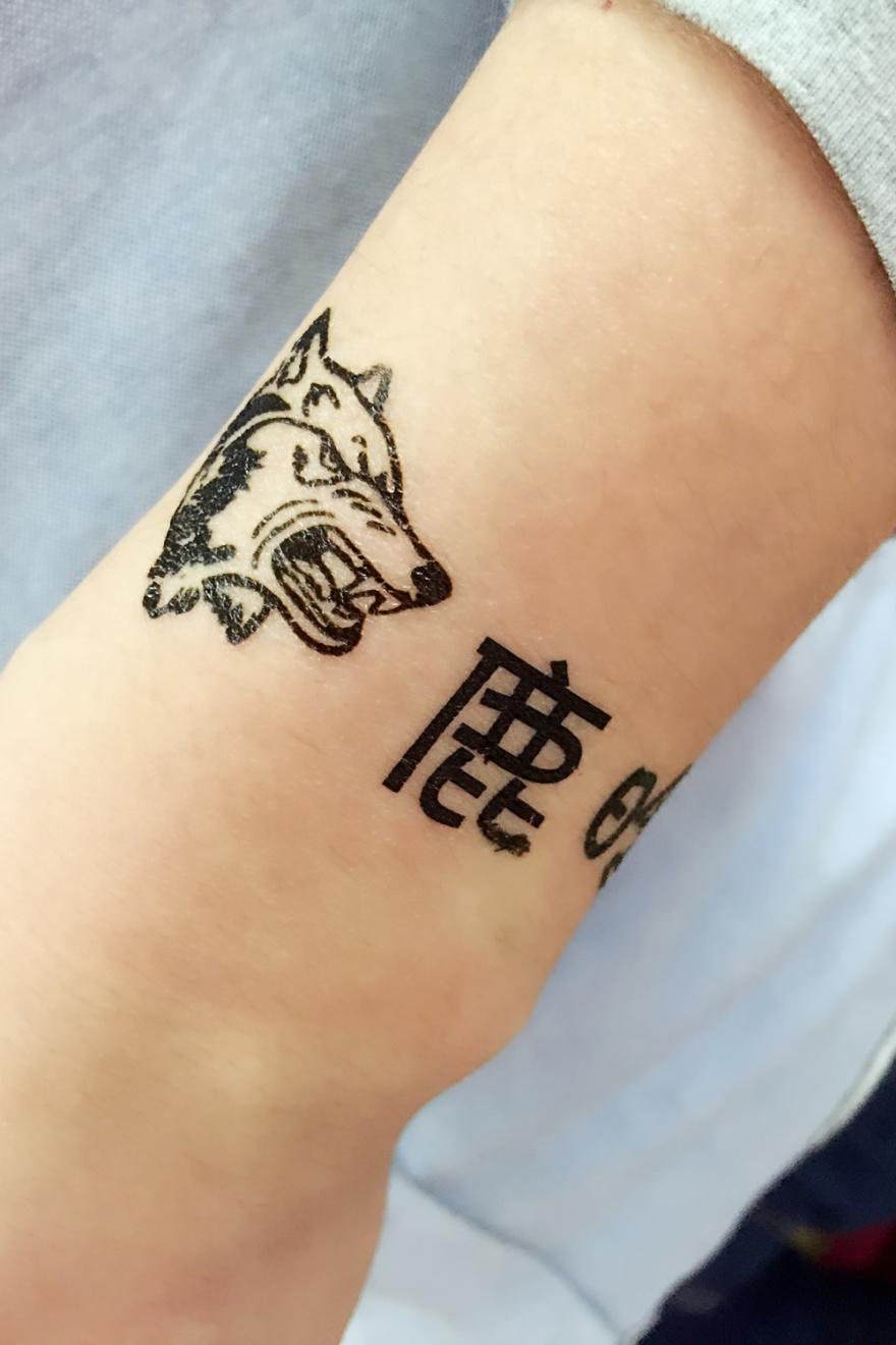 韩国子 纹身分享展示