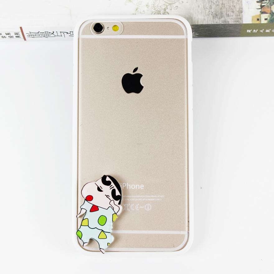 可爱小新iphone手机壳