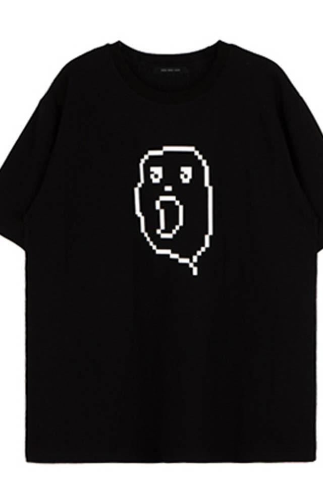 百搭可爱卡通小幽灵印花短袖t恤