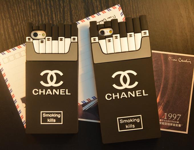小香黑白个性香烟iphone手机壳