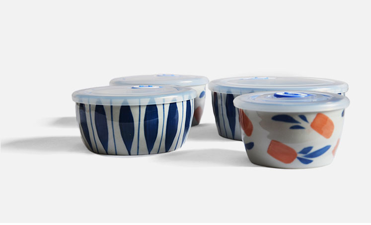 日式和风手绘保鲜碗