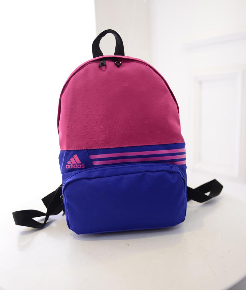 新款迷你阿迪达斯双肩包高中男女学生小书包韩版旅游包儿童背包