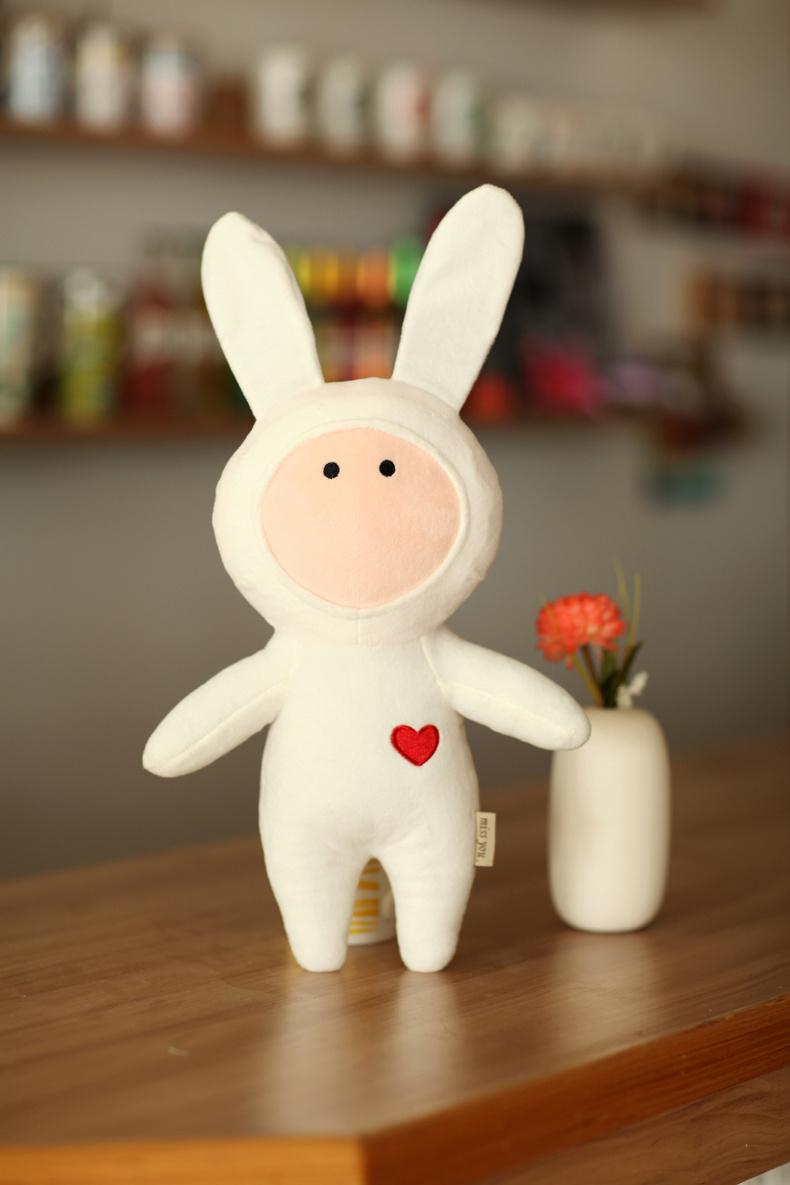 【萌萌哒~可爱不二兔子公仔】-家居-玩具/模型/动漫