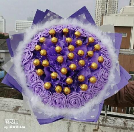 【棒棒糖花束】-鲜花速递/花卉仿真/绿植园艺