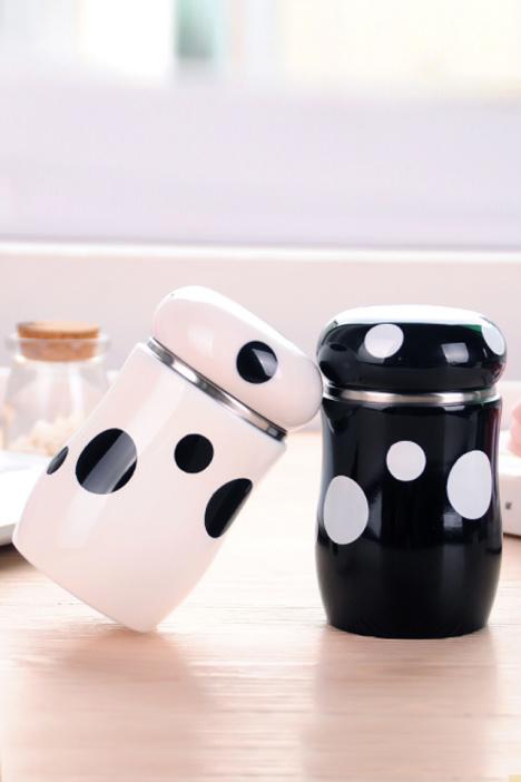 【送闺蜜】创意可爱不绣钢蘑菇保温杯