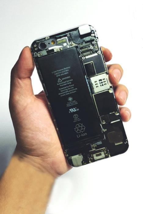 【果壳】iphone6/5s 创意电路板手机壳硅胶软壳