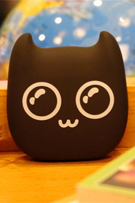 【小萌恶魔卡通充电宝12000毫安】-配饰-3c数码配件