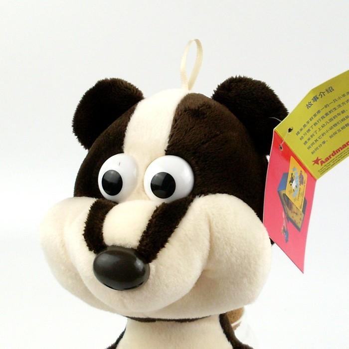 小羊提米同款玩具鹈鹕大鸟小羊提米刺猬鸭子猪毛绒玩具节日礼物