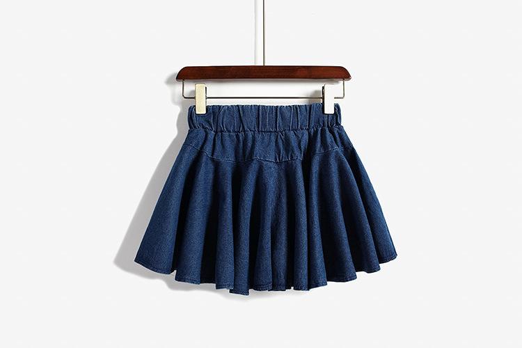 裙子改阔腿裤步骤图