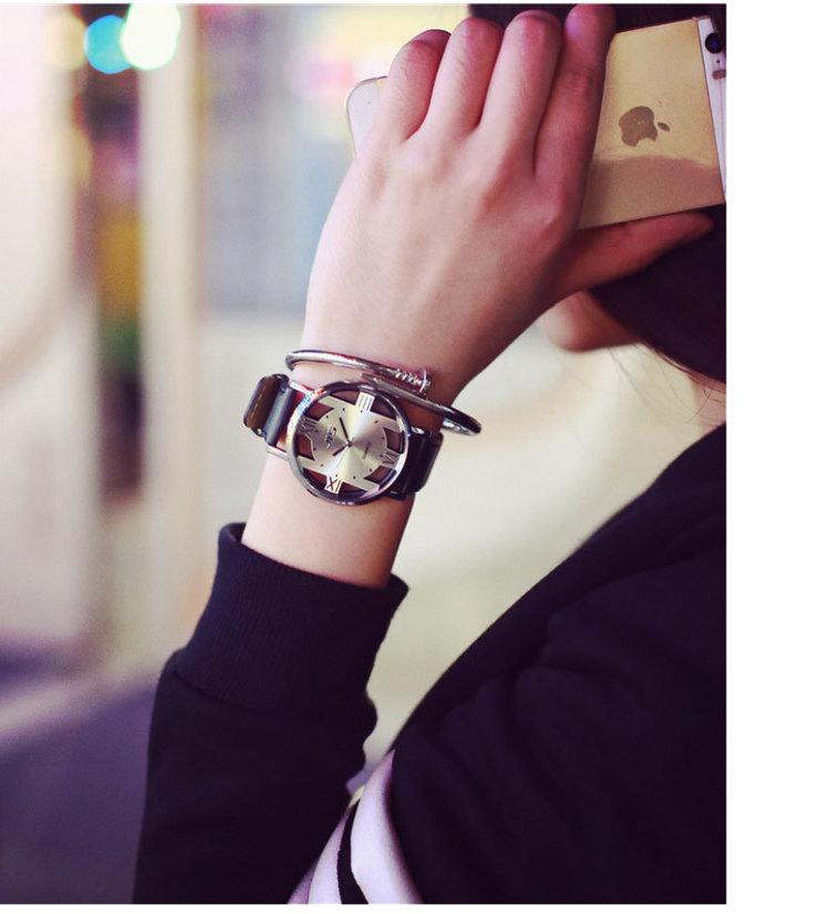 【原宿复古风休闲情侣手表】-null-配饰