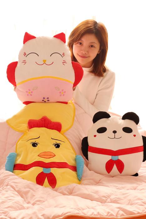 母婴 母婴用品 母婴毛绒布艺类玩具 玩具 模型 动漫 早教 益智 幸福大猫