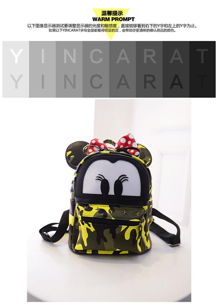 夏季米奇米妮双肩包 儿童包 小孩子背包 卡通可爱潮米老鼠包