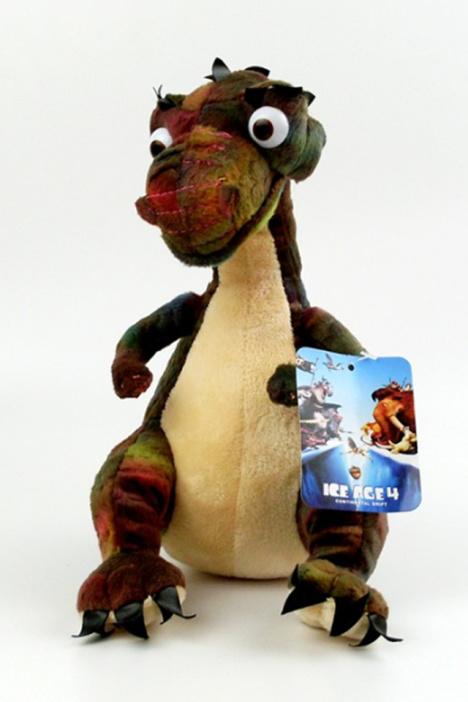 冰河世纪4毛绒公仔玩具猛犸象剑齿虎松鼠树懒恐龙送朋友节日礼物