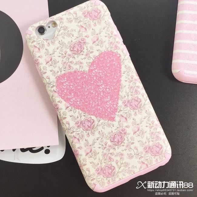 【个性潮牌苹果iphone6s手机壳条纹简约苹果保护套】