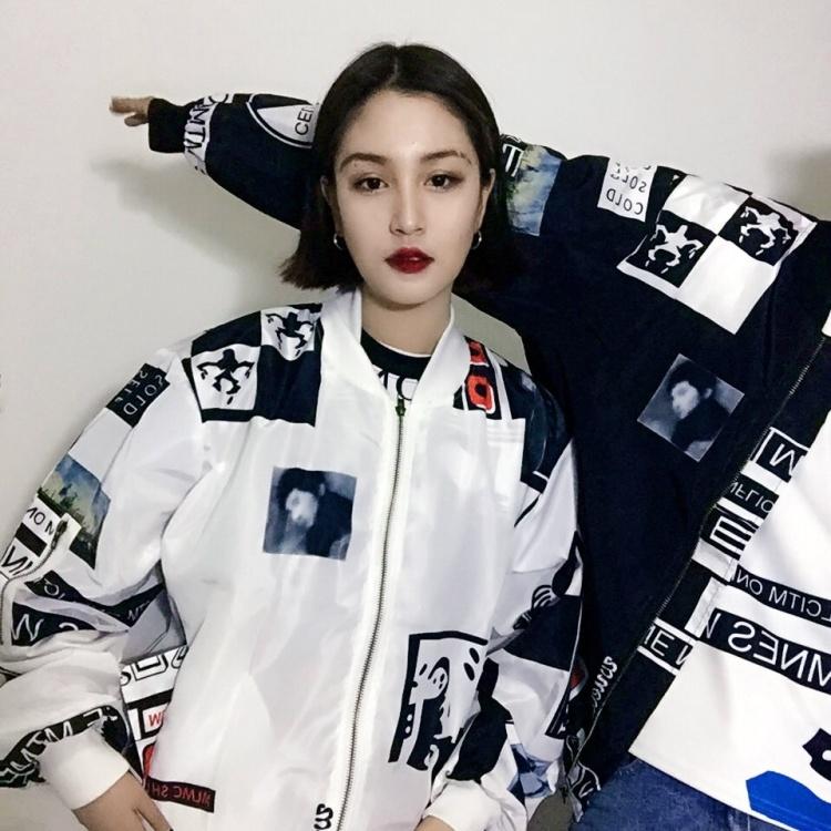 【2016街拍韩国权志龙原宿学院风外套防晒衣男女情侣