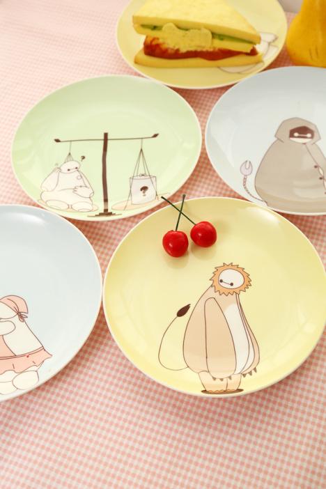 盘子,餐具,陶瓷,卡通,可爱,餐盘,创意
