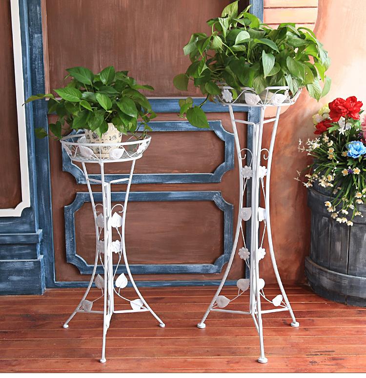 欧式落地式客厅花盆架阳台植物架